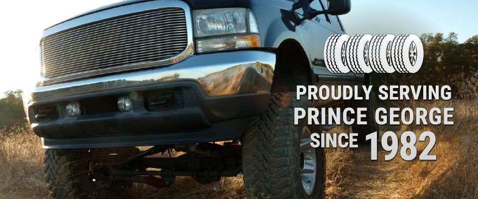 Proudly Serving Prince George since 1982 - Trucks
